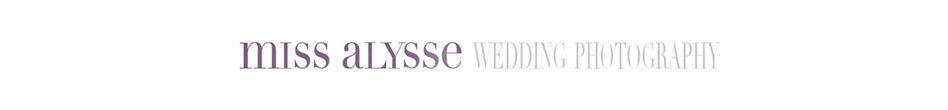 miss alysse nashville destination wedding photographer logo